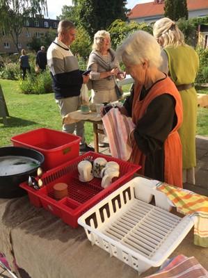 Ann-Marie ombesörjde disk utan uppehåll