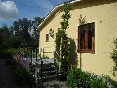 Ingången till Hyddan
