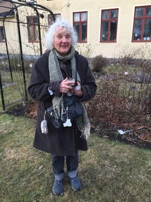 Lisbet Flising höll föredrag på Årsmötet 2017